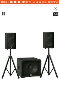 B-52 Sub set w/Speakers