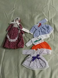 """8"""" doll with 4 outfits never played with Augusta, 04330"""