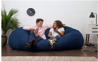 6 ft foam beanbag lovesac 17 km