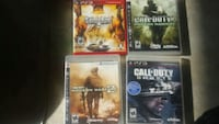 four Sony PS3 game cases Calgary, T3J 4K8