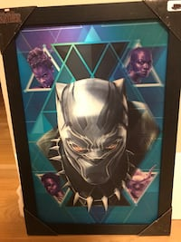 Marvel's Black Panther Holographic/3D Framed Picture-New London, N5Y 4X7