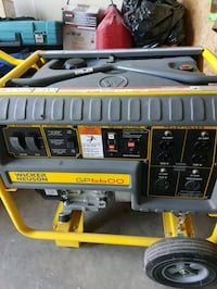 black and yellow DeWalt portable generator Kitchener, N2M 3P5