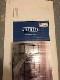 Stratford 5 shelf bookcase 39 km