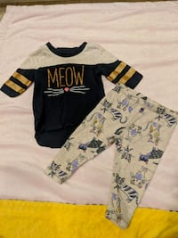 Girl 9m kitty outfit  Surrey, V3W 5S2