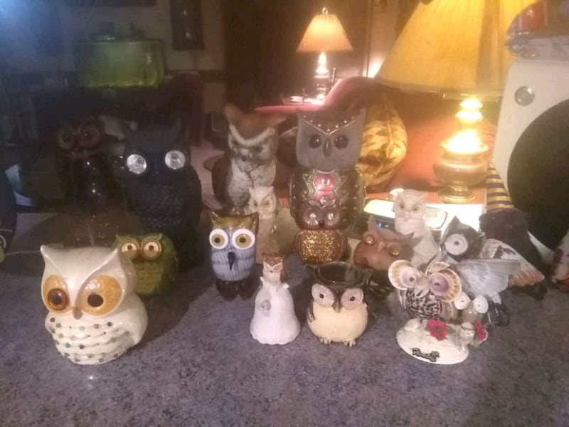 Owl collection I have tons more I want 35.00 for 6baf1203-494c-41b2-b95f-0645f91a6609