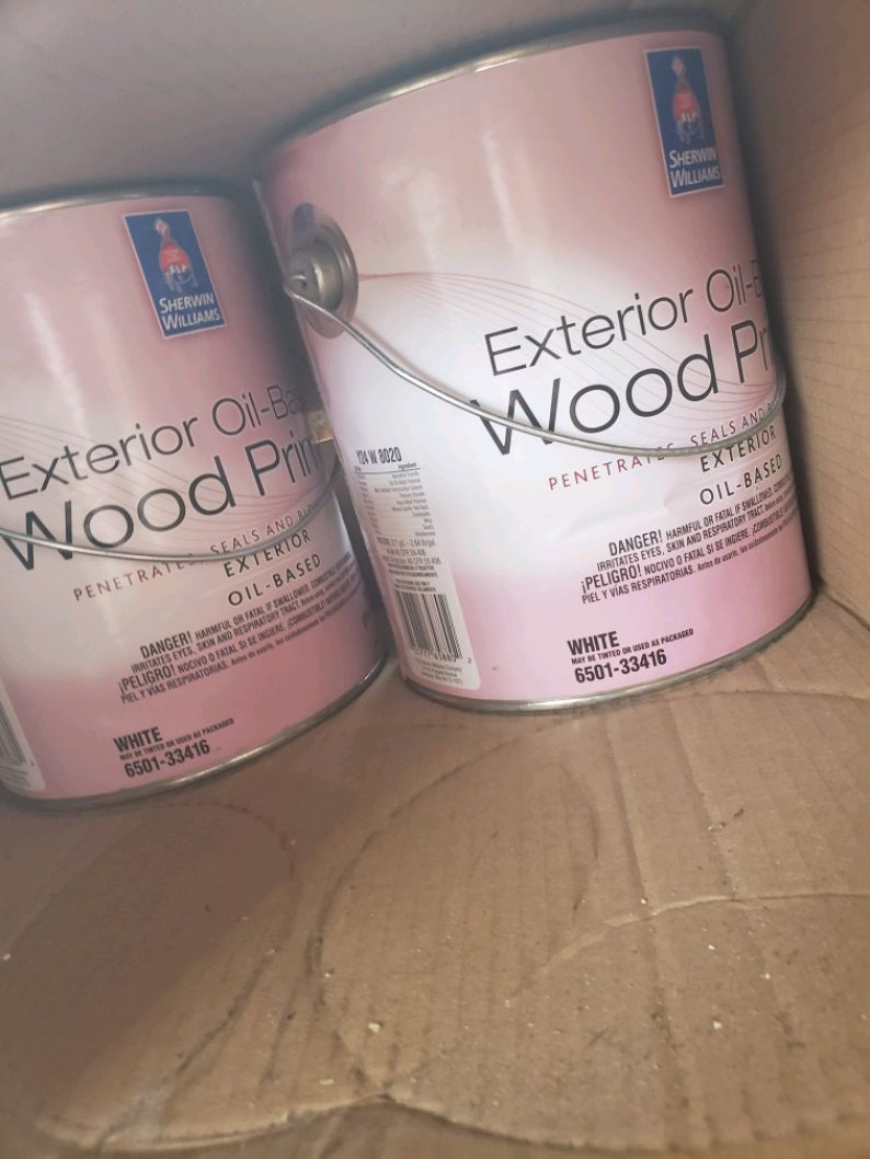 Photo Sherwin Williams Wood Primer