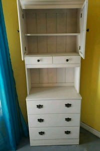 white wooden 2-drawer cabinet Kissimmee, 34758