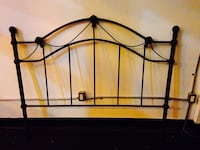 Black Metal Headboard (Queen Size) Toronto, M4L 1C2