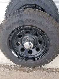New tires with rims ***lowered price*** Lethbridge, T1H 6P6