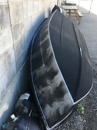 Fibreglass boat and motor Canmore, T1W 3C6
