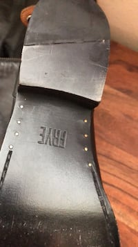 Black and gray leather belt Katy, 77449