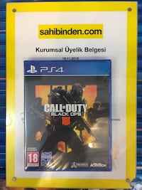 ps4 call of duty black ops 4 ''sıfır'' Suadiye Mahallesi