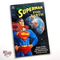 Superman For Earth #1 One-Shot DC 1991 Comic Book Toronto