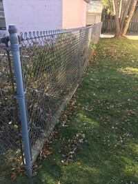 25ft of link fence all hardware is in box fence is rolled nicely  Milwaukee, 53215