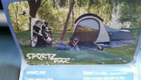Motorcycle travel tent Mesquite
