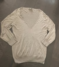 Lot of two j crew cashmere blend ladies sweaters ~ size large Surrey, V4N 6A2