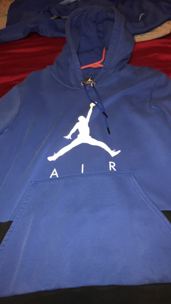 23bca2e0be2c Used Blue Jordan hoodie men s L for sale in Daytona Beach - letgo