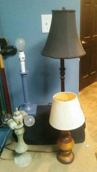4 lamps 2 are old vintage  Beech Grove, 46107