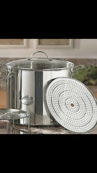stainless steel and white drum set Houston, 77076