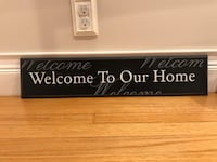 Welcome to our home sign Ansonia, 06401