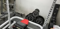 Short squat and bench rack.