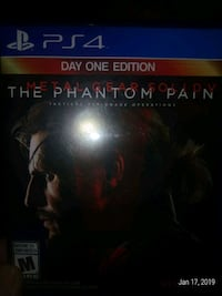 PS4 Metal Gear The Phantom Pain Burnaby, V5A 4G5