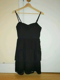 American Eagle Women's size 8 black dress ruffled Calgary, T2T 0E6