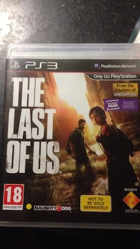 The last of us PS3 spel Örebro