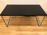 black wooden Bo Concept table 41 km
