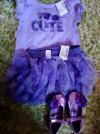 purple and pink tutu dress Toronto, M1B 4T8