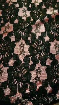 green and black floral textile 3158 km