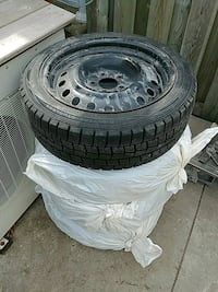 Steel rims with winter tires 205/50/17 Toronto, M6H 2E1