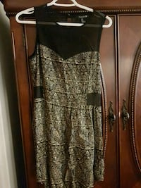 Gold and black dress size M Montreal, H1H