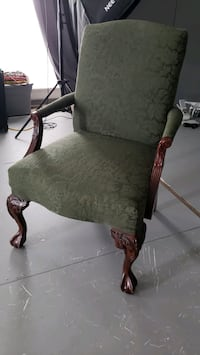 Pair of parisian accent chairs..