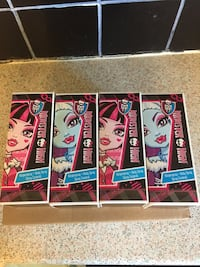 Monster high sprays 100ml new x4 Coventry, CV6 3AX