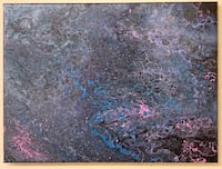 Acrylic abstract painting Parkville, 21234