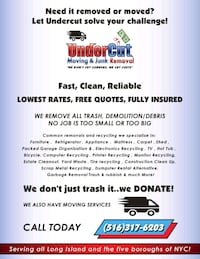 Delivery/ Junk Removal  West Hempstead, 11552