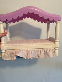 Little tikes doll bed