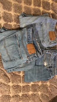 Three blue american eagle denim bottoms Harpers Ferry, 25425