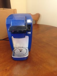 Blue keriug coffee maker