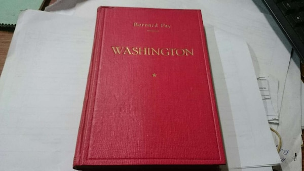 LIBRO GEORGES WASHINGTON 1945 PRIMERA EDICION