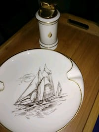 Lenox Porcelain Ashtray and Table Lighter  San Antonio, 78204