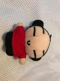 Red and black doll plush toy 馬卡姆, L3S 3M6