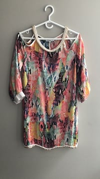 Mini silk dress Brand new Paris Vaughan, L4K 0H8
