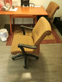 Selling two study chairs Toronto, M4W 1A6