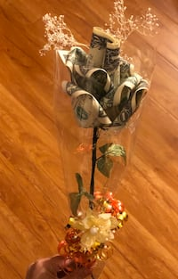 Special Occasion Money Rose