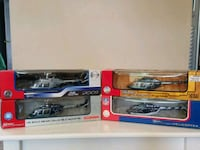 Dallas cowboys diecast collectable helicopters