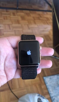 space black aluminum case Apple Watch with black sports band Washington, 20037