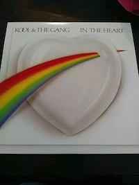 KOOL & THE GANG IN THE HEART VINYL RECORD