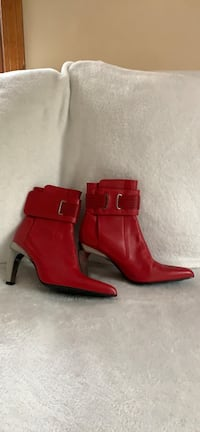 Diesel Red Heeled Ankle Boots Nashua, 03062